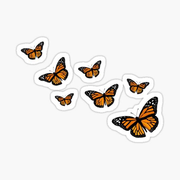 Monarch Butterflies Sticker