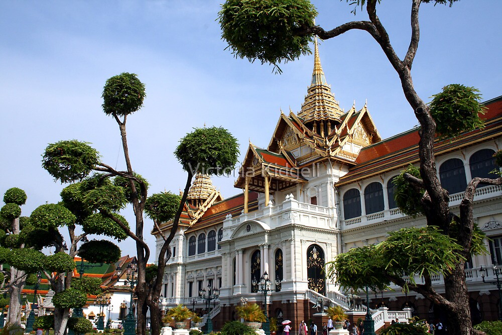 The Grand Palace, Bangkok by Victoria Kidgell