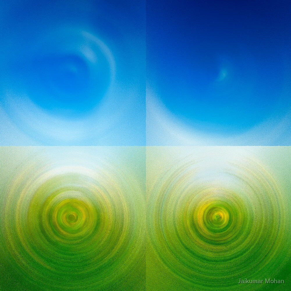 Abstract - Spiral by Jaikumar Mohan