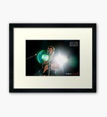 Matt Corby - The Winter Tour Framed Print