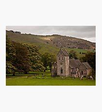 Mountain Churchs Photographic Print