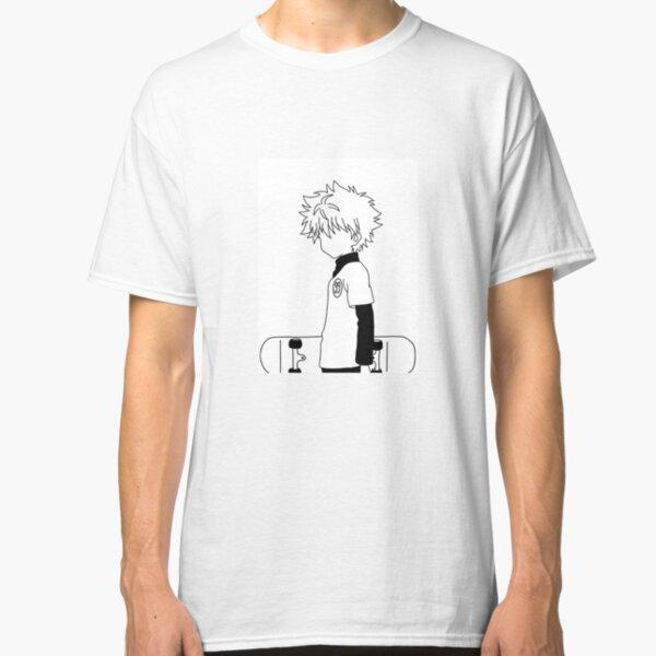 Killua Zoldyck with skateboard Classic T-Shirt