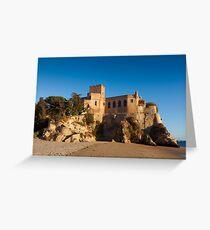 Castle of Ferragudo, Algarve, Portugal  Greeting Card