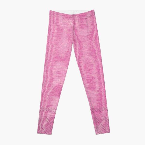 pink moire Leggings