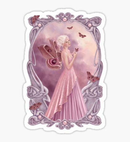 Pearl Birthstone Fairy Sticker
