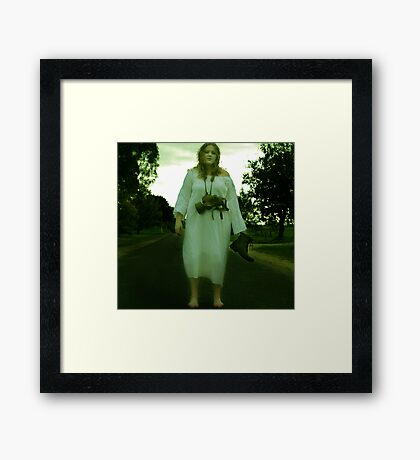 Did I miss the end? Framed Print