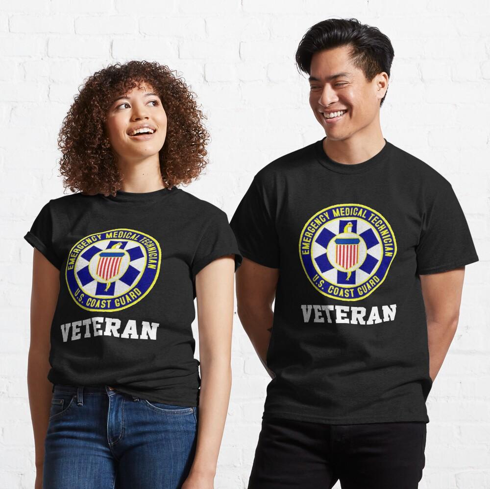 EMT Veteran USCG Design Classic T-Shirt