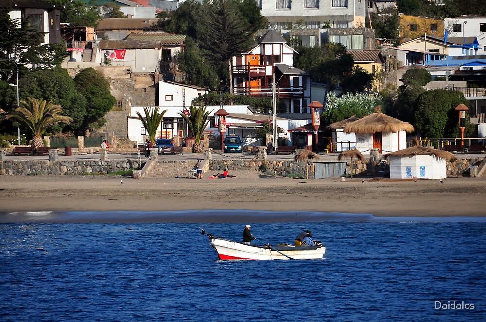 Chile, Fishermen, by Daidalos