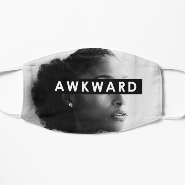 Awkward Blk Girl  Mask
