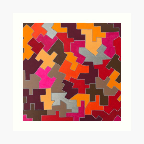 Puzzled - Kizd Art Print