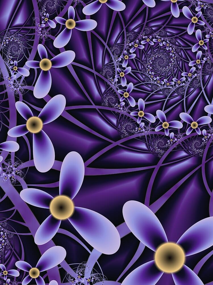 Floral Spiral. by LouiseWagstaff