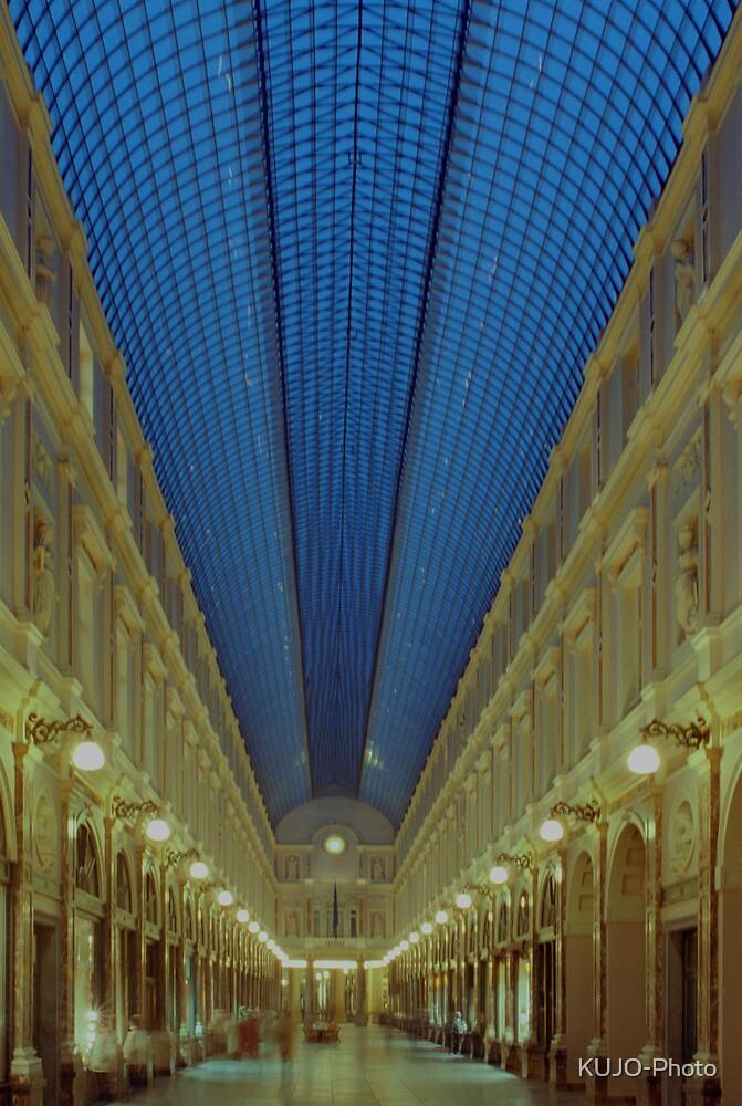 St Hubert Galleria, Brussels by KUJO-Photo