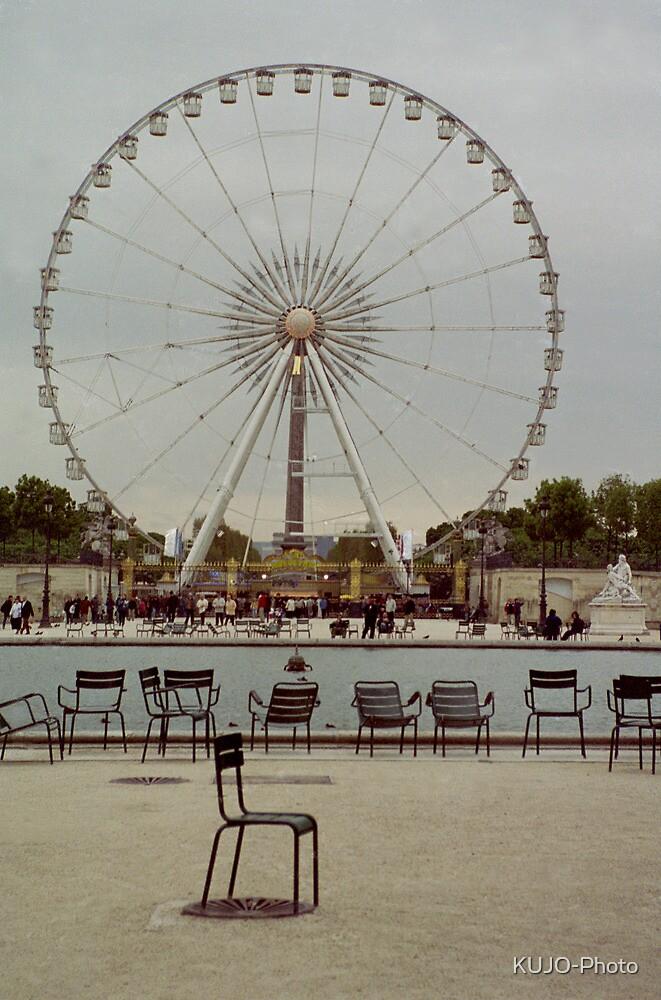 Great Wheel, Paris by KUJO-Photo