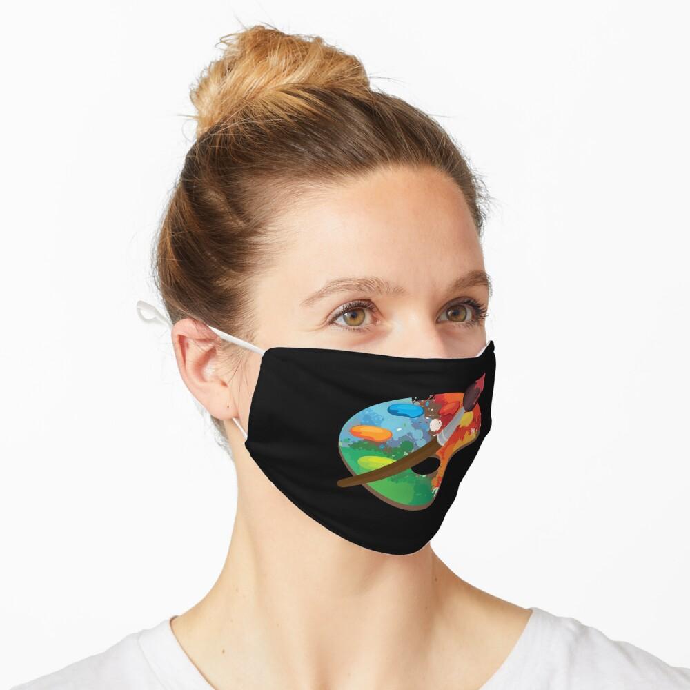 Artist Paint Palette Arts Crafts Painter Gift Mask
