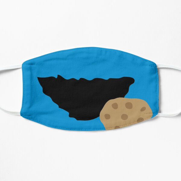 Cookie Monster Mouth Mask Design, Artwork, Vector, Graphic Mask
