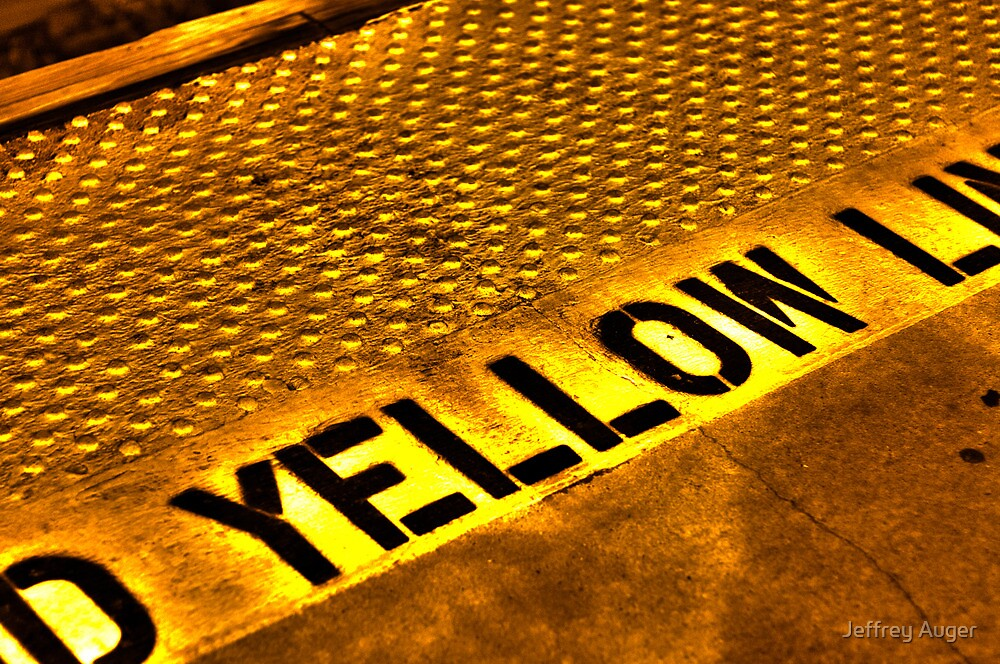 Caution! Yellow! by Jeffrey Auger