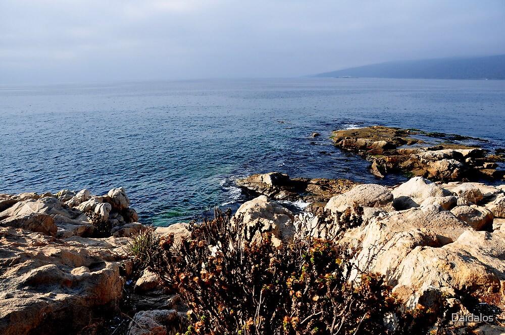 the sea and the horizon by Daidalos