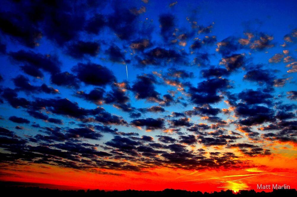 Sunset clouds by Matt Marlin