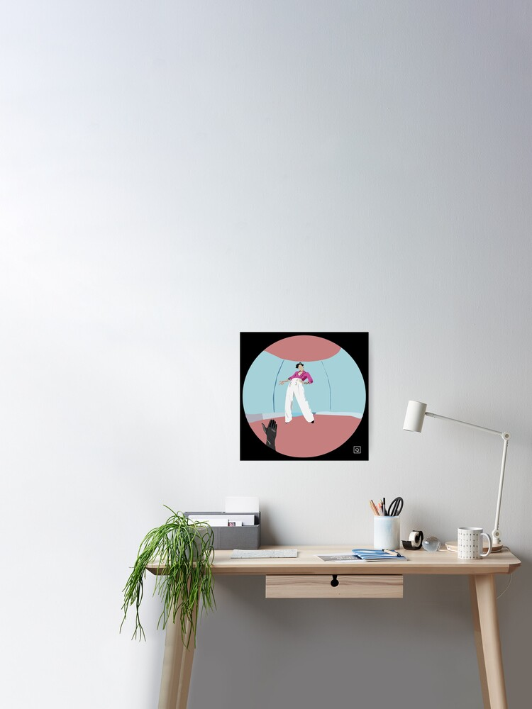 Harry Styles Fine Line Album Cover Art Poster By Morganmurphy17 Redbubble