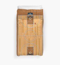 Basketball Court Pitch Hall Ball Duvet Cover