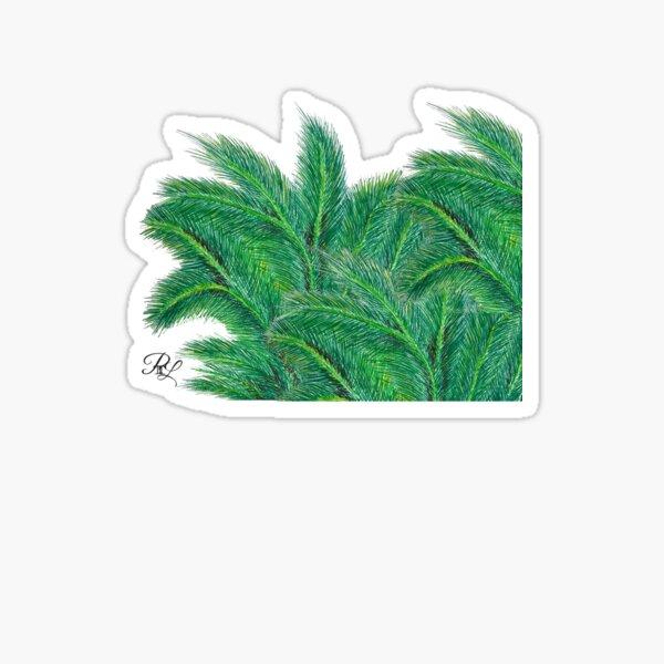 Palm Forest Sticker