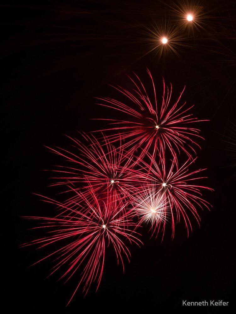 Pyrotechnics Pattern by Kenneth Keifer