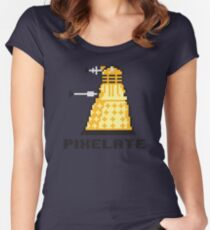 Pixelate Women's Fitted Scoop T-Shirt