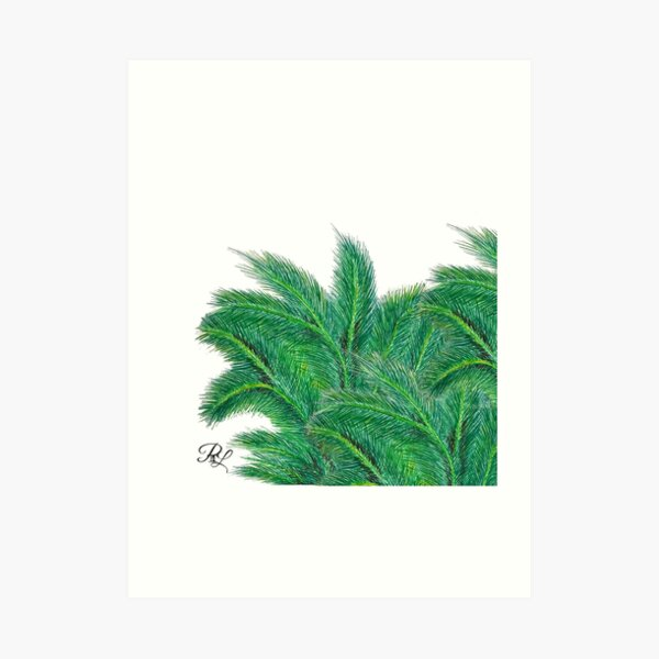 Palm Forest Art Print