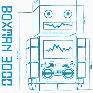 J Ray - Boxman 3000 by JasonNthaJungle