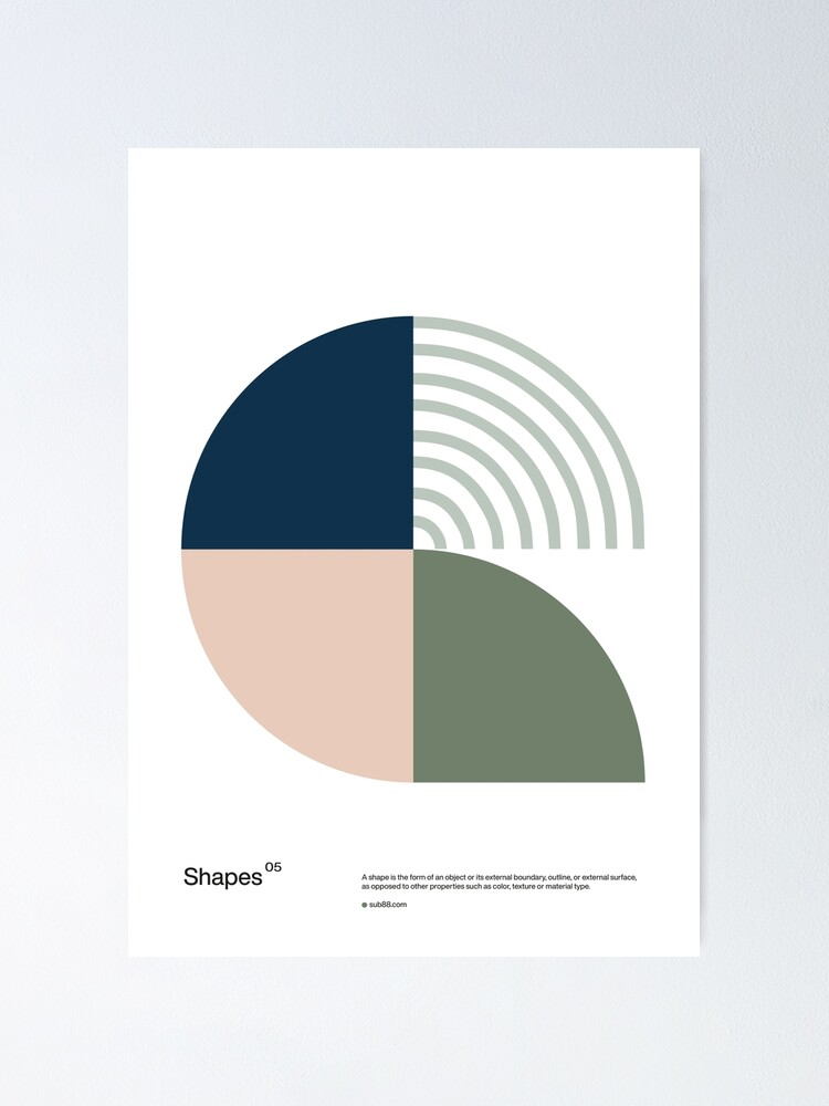 Alternate view of Shapes 05 Poster