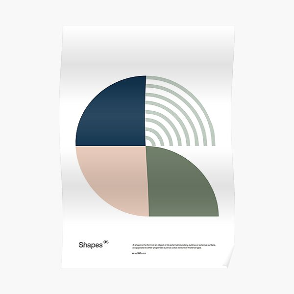 Shapes 05 Poster
