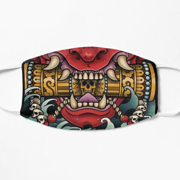 Máscara Samurai Mascarilla plana