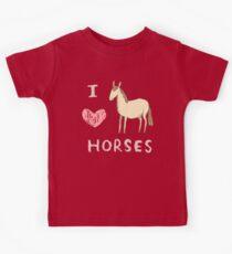 I ❤ Horses Kids Tee