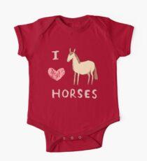 I ❤ Horses Kids Clothes