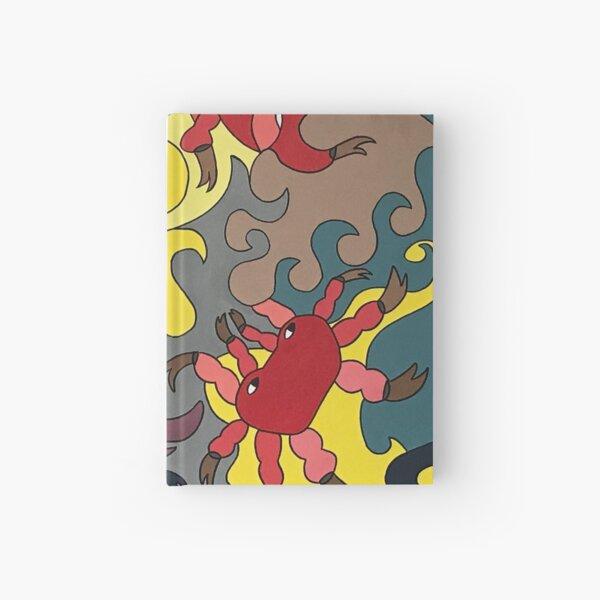 When the crabs escape we dance - Kizd Hardcover Journal