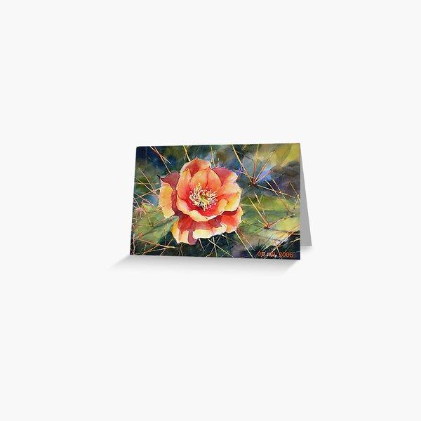 Pricky rose Greeting Card