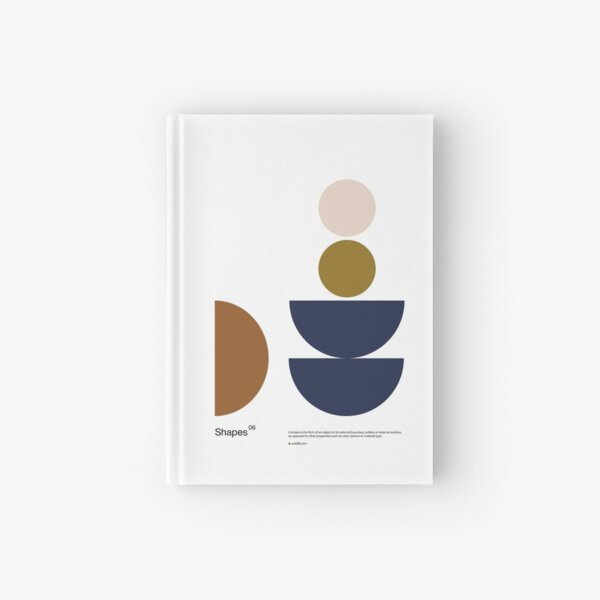 Shapes 06 Hardcover Journal
