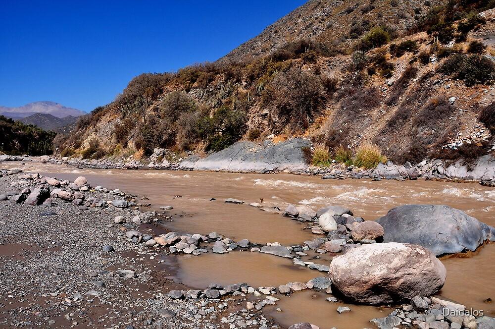 Chile, River Maipo, by Daidalos