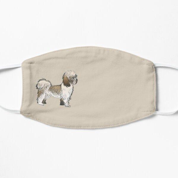 Shih Tzu Dog Face Mask Flat Mask