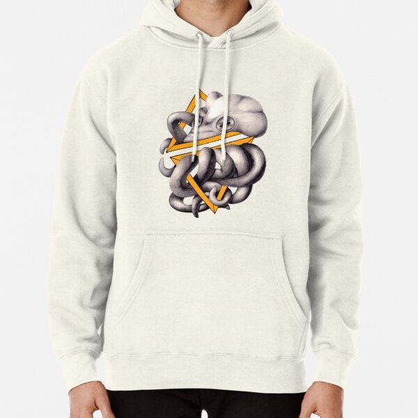 Geometric Shapes and an Octopus Pullover Hoodie