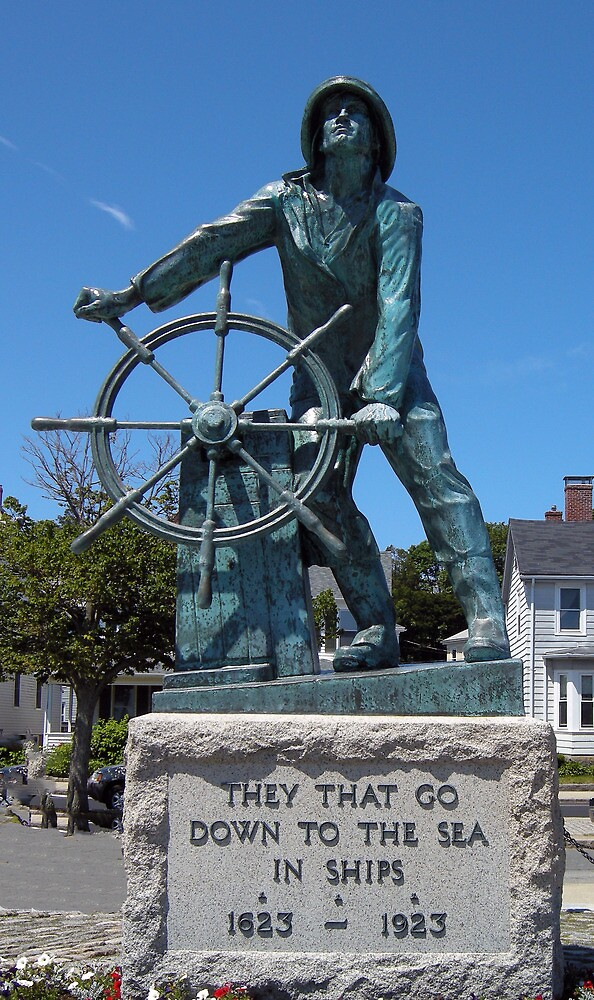 Fisherman's Memorial Gloucester, MA  by John  Kapusta