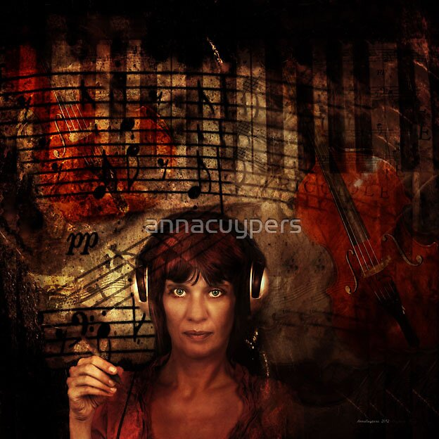My music at Work by annacuypers