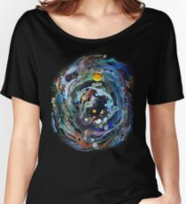 Psychedelic Space  Women's Relaxed Fit T-Shirt