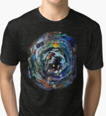 Psychedelic Space  Tri-blend T-Shirt