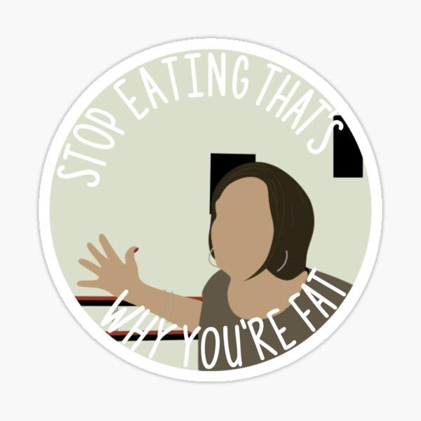 Kelly Hyland Quote Sticker