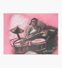 Drummer Photographic Print