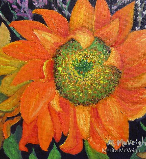 Garden Party Sunflowers by Marita McVeigh