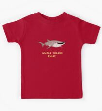 Whale Sharks Rule! Kids Tee