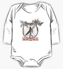 Hawaii Surf Design Baby Body Langarm