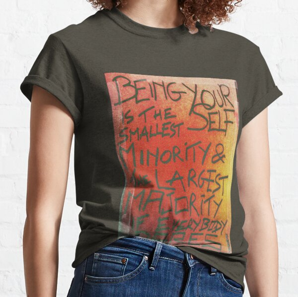 "PUNKTAG ""BEING YOURSELF"" Classic T-Shirt"